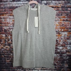 NWT Urban Outfitters Short Sleeve Hooded Sweater
